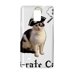 Pi-rate Cat Samsung Galaxy Note 4 Hardshell Case