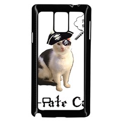 Pi Rate Cat Samsung Galaxy Note 4 Case (black)