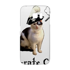 Pi-rate Cat Samsung Galaxy S6 Edge Hardshell Case