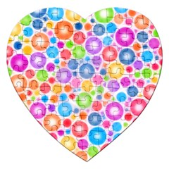 Candy Color s Circles Jigsaw Puzzle (heart)