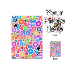 Candy Color s Circles Playing Cards 54 Designs (Mini)