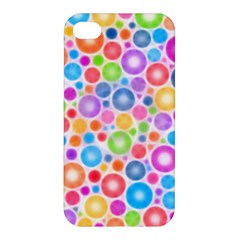 Candy Color s Circles Apple Iphone 4/4s Hardshell Case