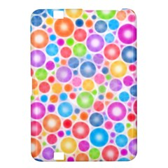 Candy Color s Circles Kindle Fire Hd 8 9  Hardshell Case