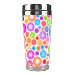 Candy Color s Circles Stainless Steel Travel Tumbler