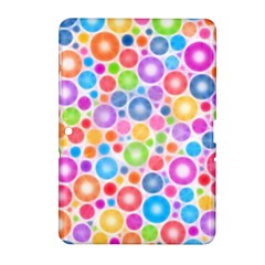Candy Color s Circles Samsung Galaxy Tab 2 (10.1 ) P5100 Hardshell Case