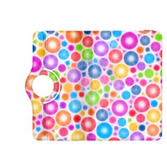 Candy Color s Circles Kindle Fire HDX 8.9  Flip 360 Case