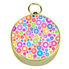 Candy Color s Circles Gold Compass