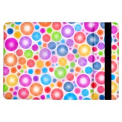 Candy Color s Circles Apple iPad Air Flip Case