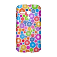 Candy Color s Circles Motorola Moto G Hardshell Case