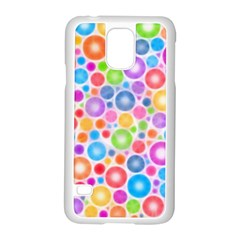 Candy Color s Circles Samsung Galaxy S5 Case (white)