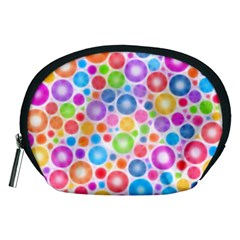 Candy Color s Circles Accessory Pouch (Medium)