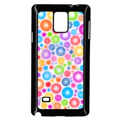 Candy Color s Circles Samsung Galaxy Note 4 Case (Black)