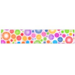 Candy Color s Circles Flano Scarf (Large)
