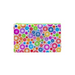 Candy Color s Circles Cosmetic Bag (XS)