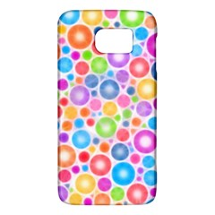 Candy Color s Circles Samsung Galaxy S6 Hardshell Case