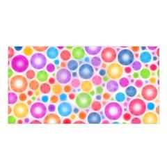 Candy Color s Circles Satin Shawl