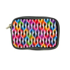 Rainbow Psychedelic Waves Coin Purse