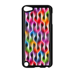 Rainbow Psychedelic Waves Apple Ipod Touch 5 Case (black)