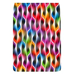 Rainbow Psychedelic Waves Removable Flap Cover (s)