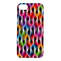 Rainbow Psychedelic Waves Apple Iphone 5s Hardshell Case