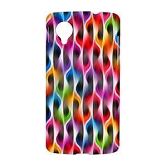 Rainbow Psychedelic Waves Google Nexus 5 Hardshell Case