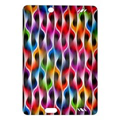 Rainbow Psychedelic Waves Kindle Fire Hd (2013) Hardshell Case