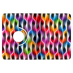 Rainbow Psychedelic Waves Kindle Fire HDX Flip 360 Case