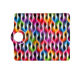 Rainbow Psychedelic Waves Kindle Fire HDX 8.9  Flip 360 Case