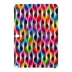 Rainbow Psychedelic Waves Samsung Galaxy Tab Pro 10.1 Hardshell Case