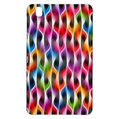 Rainbow Psychedelic Waves Samsung Galaxy Tab Pro 8 4 Hardshell Case