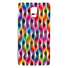 Rainbow Psychedelic Waves Samsung Note 4 Hardshell Back Case