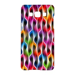 Rainbow Psychedelic Waves Samsung Galaxy A5 Hardshell Case