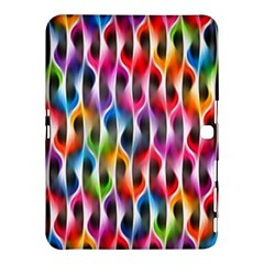 Rainbow Psychedelic Waves Samsung Galaxy Tab 4 (10.1 ) Hardshell Case