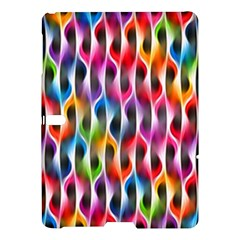 Rainbow Psychedelic Waves Samsung Galaxy Tab S (10.5 ) Hardshell Case