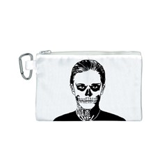 Tatezazzle Canvas Cosmetic Bag (Small)