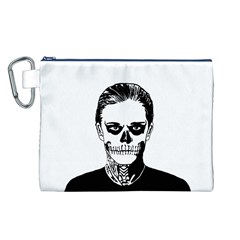 Tatezazzle Canvas Cosmetic Bag (Large)