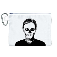 Tatezazzle Canvas Cosmetic Bag (XL)