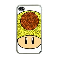 Really Mega Mushroom Apple Iphone 4 Case (clear)