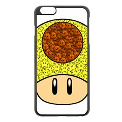 Really Mega Mushroom Apple iPhone 6 Plus Black Enamel Case