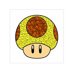 Really Mega Mushroom Small Satin Scarf (square)