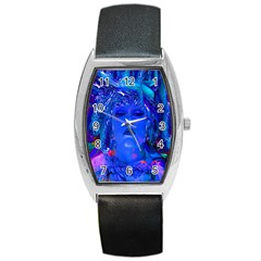 Organic Connection Tonneau Leather Watch