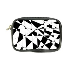 Shattered Life In Black & White Coin Purse