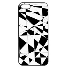 Shattered Life In Black & White Apple Iphone 5 Seamless Case (black)