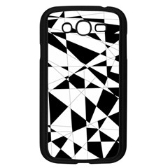 Shattered Life In Black & White Samsung Galaxy Grand Duos I9082 Case (black)