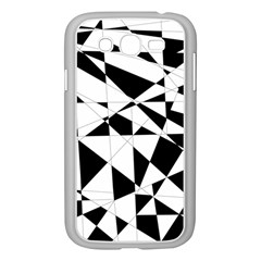 Shattered Life In Black & White Samsung Galaxy Grand Duos I9082 Case (white)
