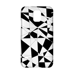 Shattered Life In Black & White Samsung Galaxy S5 Hardshell Case