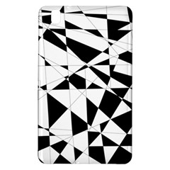 Shattered Life In Black & White Samsung Galaxy Tab Pro 8.4 Hardshell Case