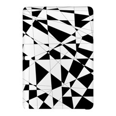 Shattered Life In Black & White Samsung Galaxy Tab Pro 12.2 Hardshell Case