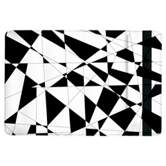 Shattered Life In Black & White Apple iPad Air Flip Case