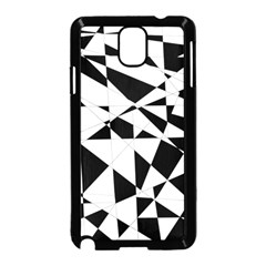 Shattered Life In Black & White Samsung Galaxy Note 3 Neo Hardshell Case (Black)